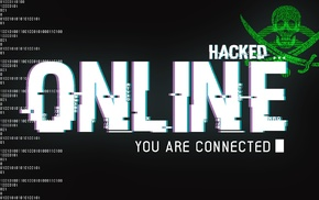 hacking, binary, sword, hackers, skull, online