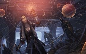 fantasy art, artwork, futuristic