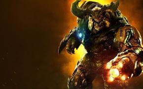 Doom game, Doom 4, video games, artwork