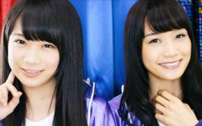 Nogizaka46, black hair, Asian, looking at viewer, smiling, brown eyes