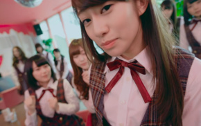 depth of field, Asian, Nogizaka46, girl, group of girl