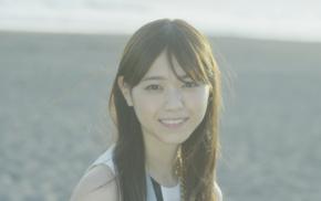 model, brunette, Asian, girl, turtle, Nogizaka46