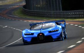 Gran Turismo 6, video games, race tracks, Bugatti Vision Gran Turismo, Super Car, car