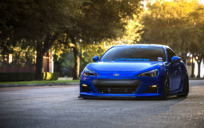 car, street, Subaru BRZ, vehicle, tuning
