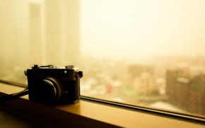 window, depth of field, camera