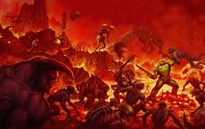 Bethesda Softworks, Id Software, Doom 4, horror, demon, Doom game