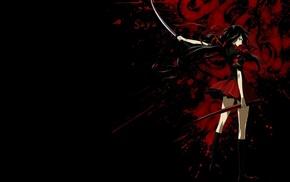 anime, Blood, C