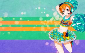 anime girls, Love Live, anime, Hoshizora Rin