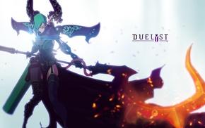 artwork, video games, digital art, Duelyst