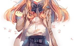 Gekkan Shoujo Nozaki, kun, anime, anime girls, Sakura Chiyo, school uniform