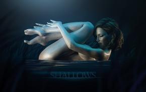 artwork, CGI, nude, girl, render