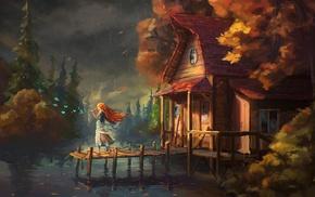 cabin, fairy tale