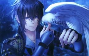 eagle, hawks, Toki no Kizuna, anime, Kazuya Toki no Kizuna, birds