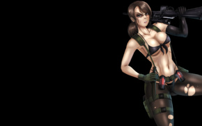 Quiet, Metal Gear Solid, Metal Gear Solid V The Phantom Pain, fan art, Shadbase