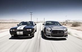 car, Dodge Challenger, Dodge Charger