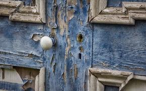wood, door