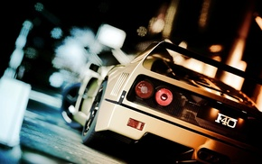 car, vehicle, video games, Ferrari F40, Gran Turismo 5