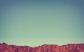 sky, landscape, mountains