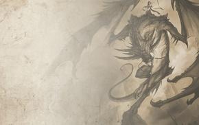dragon, girl