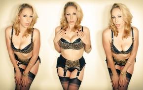 big boobs, pornstar, model, Gianna Michaels, Nylons, girl