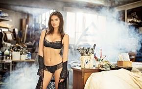 model, lingerie, girl, Emily Ratajkowski