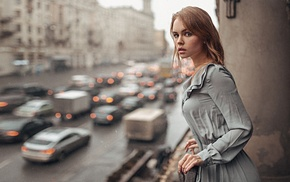 Anastasia Scheglova, Georgy Chernyadyev, dress, girl, model, portrait