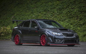 vehicle, tuning, carbon fiber, Subaru Impreza WRX STi, Speedhunters, car