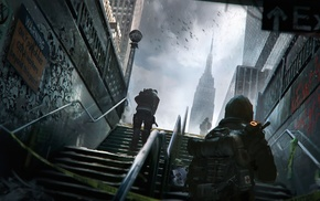 Tom Clancys The Division, video games, artwork