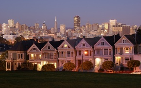 San Francisco, USA, house, cityscape