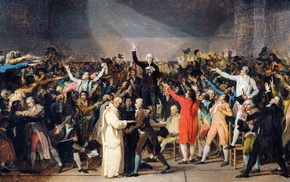 french revolution, painting