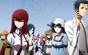 Faris Nyannyan, Makise Kurisu, anime boys, Shiina Mayuri, anime, Amane Suzuha