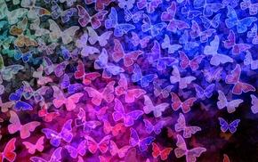 pattern, butterfly