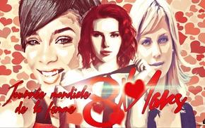 Scarlett Johansson, girl, Photoshop, Rihanna, mothers day