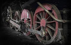steam locomotive, machine, train