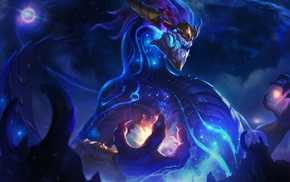Aurelion Sol, dragon, video games, God, League of Legends