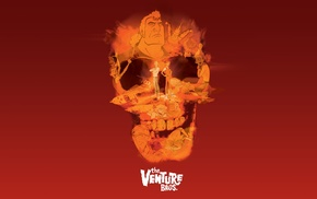 skull, The Venture Bros., Adult Swim, cartoon