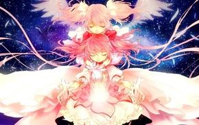 Mahou Shoujo Madoka Magica, anime, Kaname Madoka, anime girls