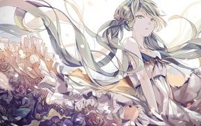 Hatsune Miku, Vocaloid, anime, dress, anime girls
