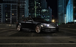 Mercedes, Benz, car, C63 AMG