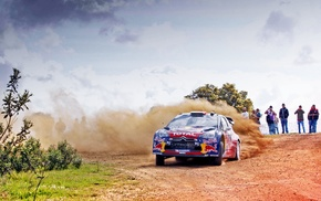Citron, Citroen DS3, Rally, car, vehicle, racing