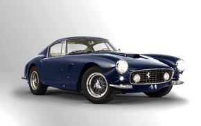 blue cars, Ferrari 250 GTO, vehicle, Ferrari