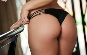 pornstar, Keisha Grey, panties, ass, girl, brunette