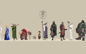 fantasy art, artwork, The Lord of the Rings