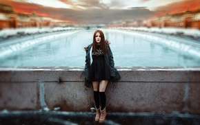 model, girl outdoors, girl, Ivan Gorokhov