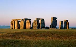 Stonehenge, England, stones, landscape