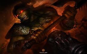 ork, artwork, fantasy art