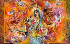 Mahmoud Farshchian, Persian Art, Miniature Painting, painting