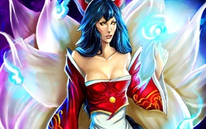 League of Legends, Ahri, anime