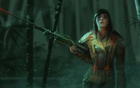 fantasy art, artwork, girl