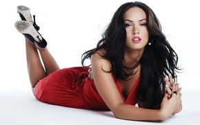 Megan Fox, girl, long hair, eyes